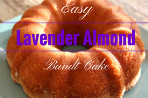 Easy Lavender Almond Bundt Cake