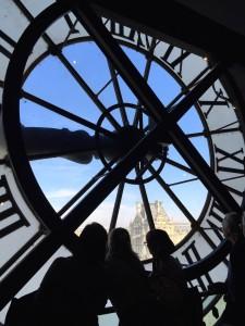Musee-D'Orsay-Clock Paris thesweetwanderlust.com