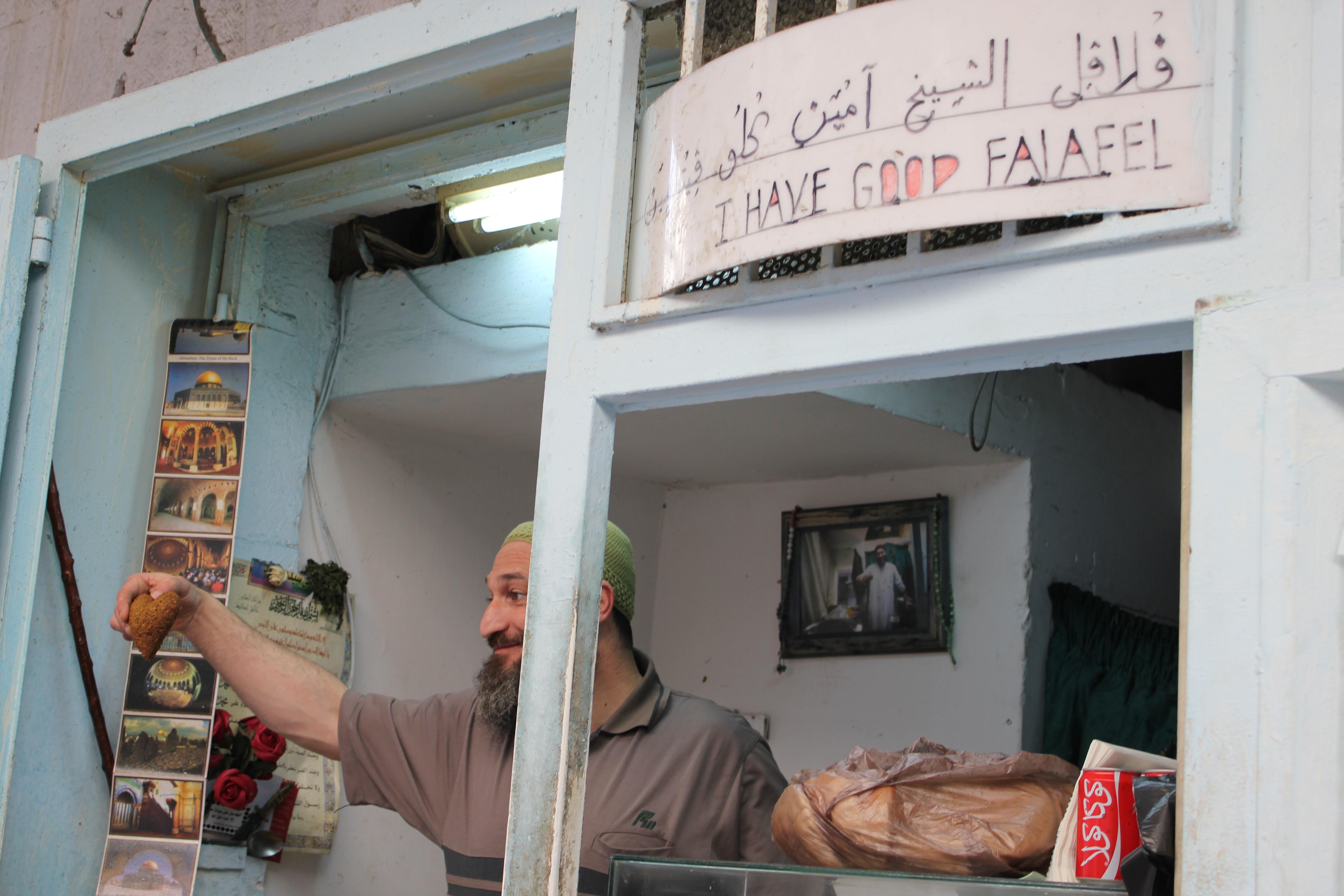 I have good falafel www.thesweetwanderlust.com
