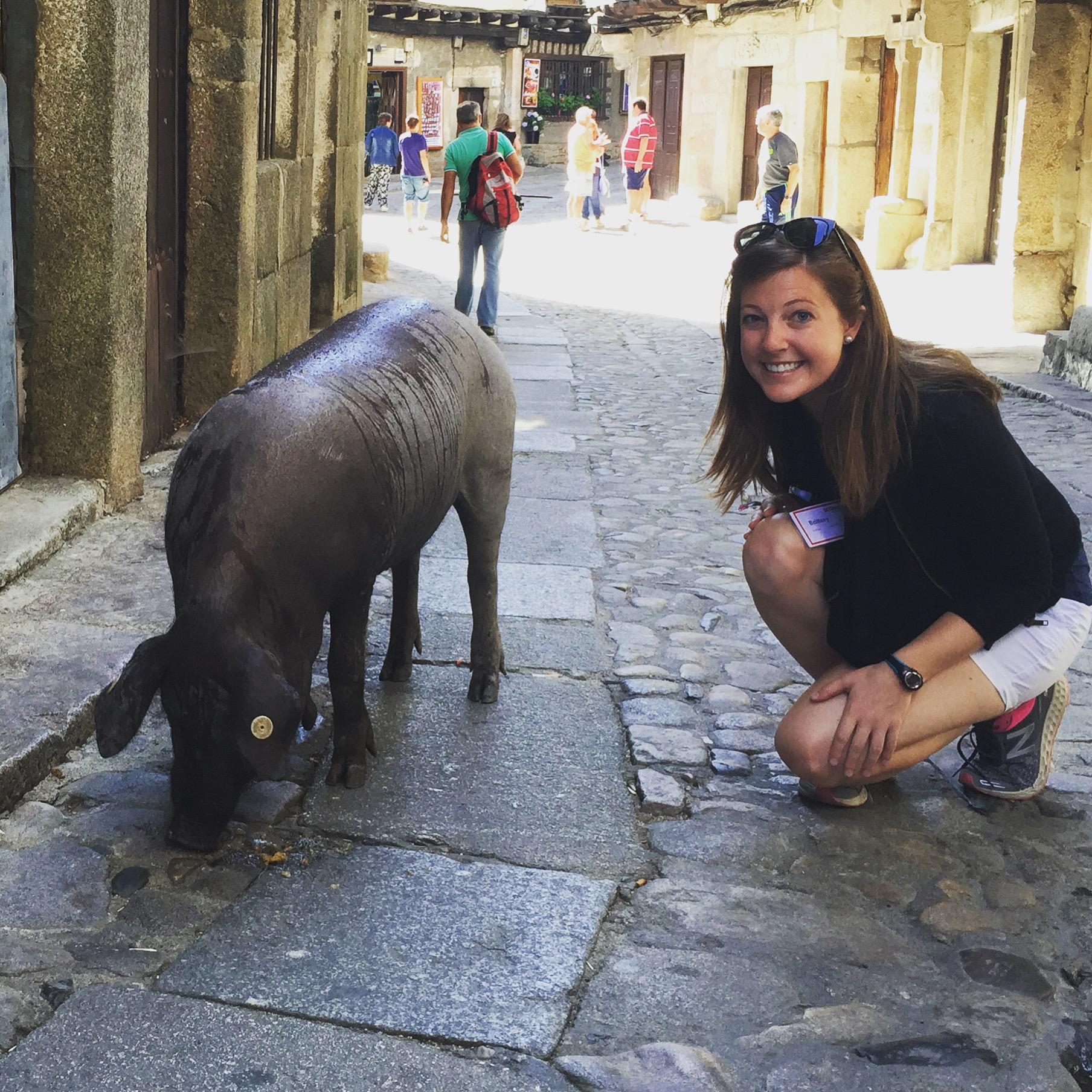 La Alberca pig www.thesweetwanderlust.com