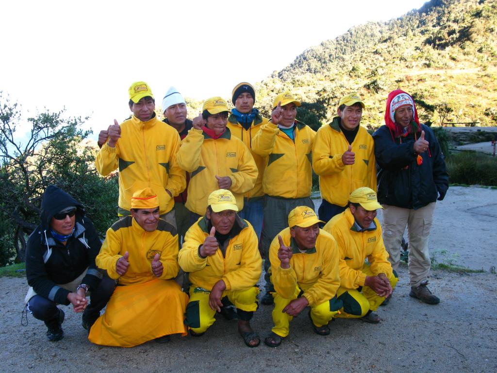 Inca Trail Porters- www.thesweetwanderlust.com