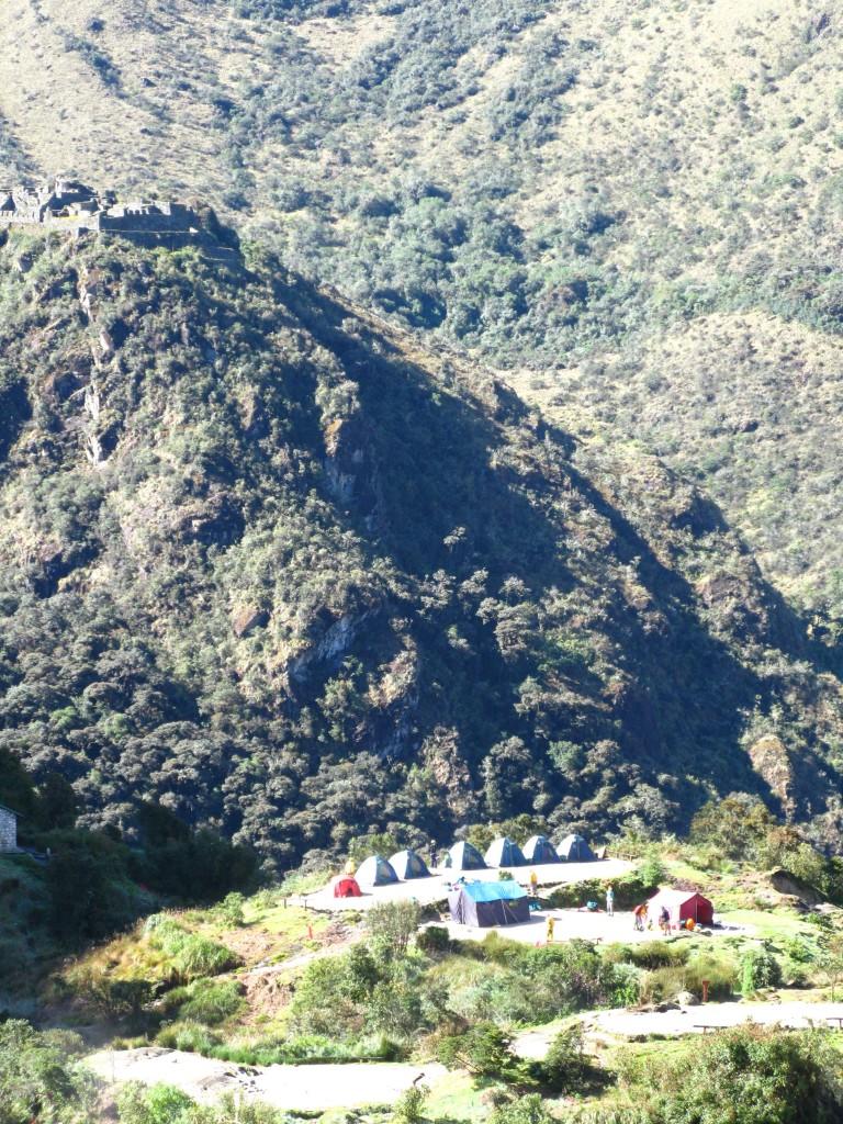 Inca Trail tents www.thesweetwanderlust.com