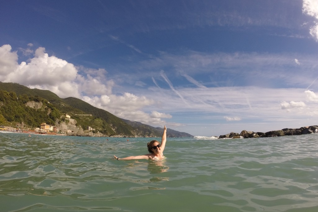 Monterosso beach Cinque Terre www.thesweetwanderlust.com