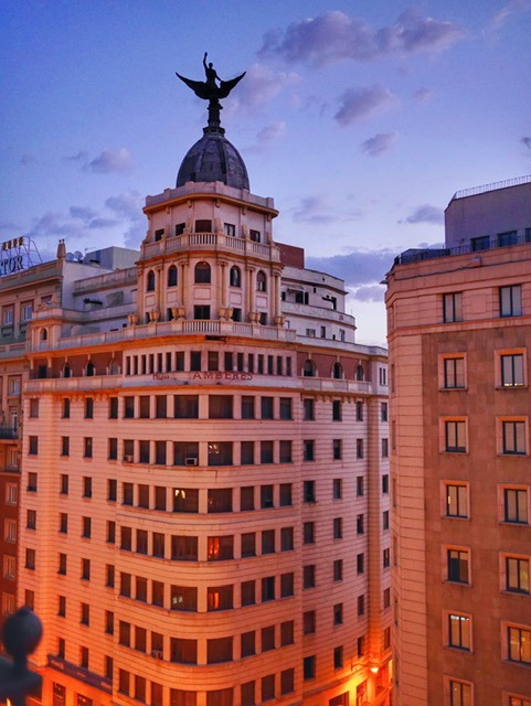 Amazing Madrid views
