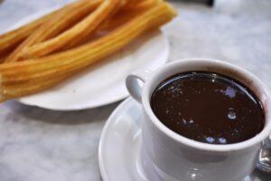 Chocolateria San Gínes churros - the best churros in Madrid