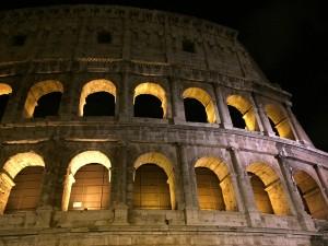 Roman Colosseum thesweetwanderlust.com