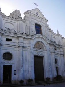 Capri- Church of San Michele thesweetwanderlust.com