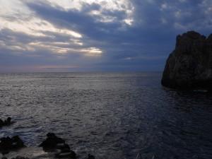 Capri sunset thesweetwanderlust.com
