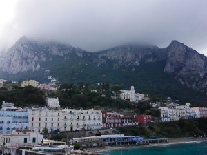 Leaving Capri by ferry thesweetwanderlust.com