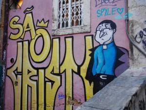 street art priest thesweetwanderlust.com