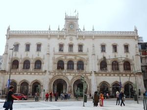 Rossio Station Lisbon Portugal thesweetwanderlust.com