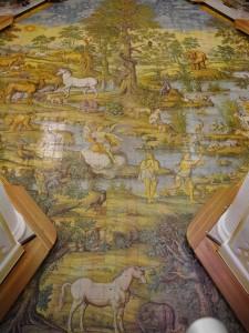 Saint Michele Church in Anacapri mosaic thesweetwanderlust.com