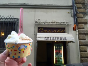 Gelateria Carabe Florence thesweetwanderlust.com