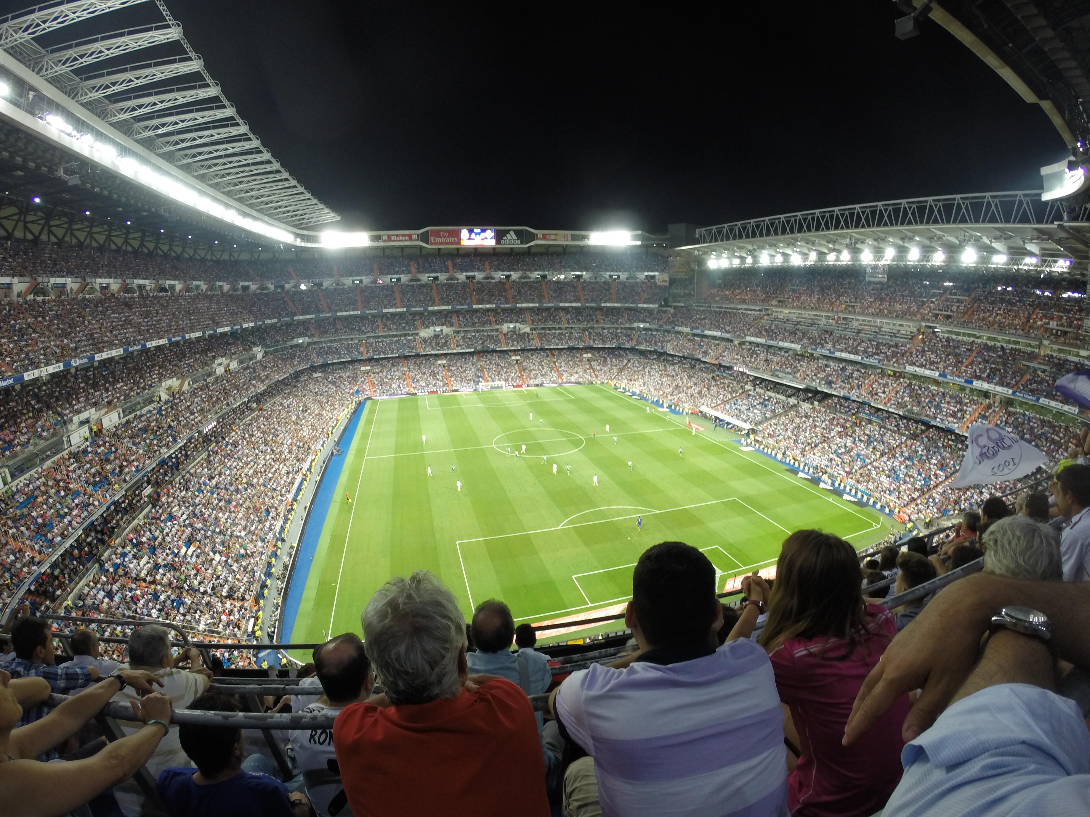 Real Madrid game thesweetwanderlust.com