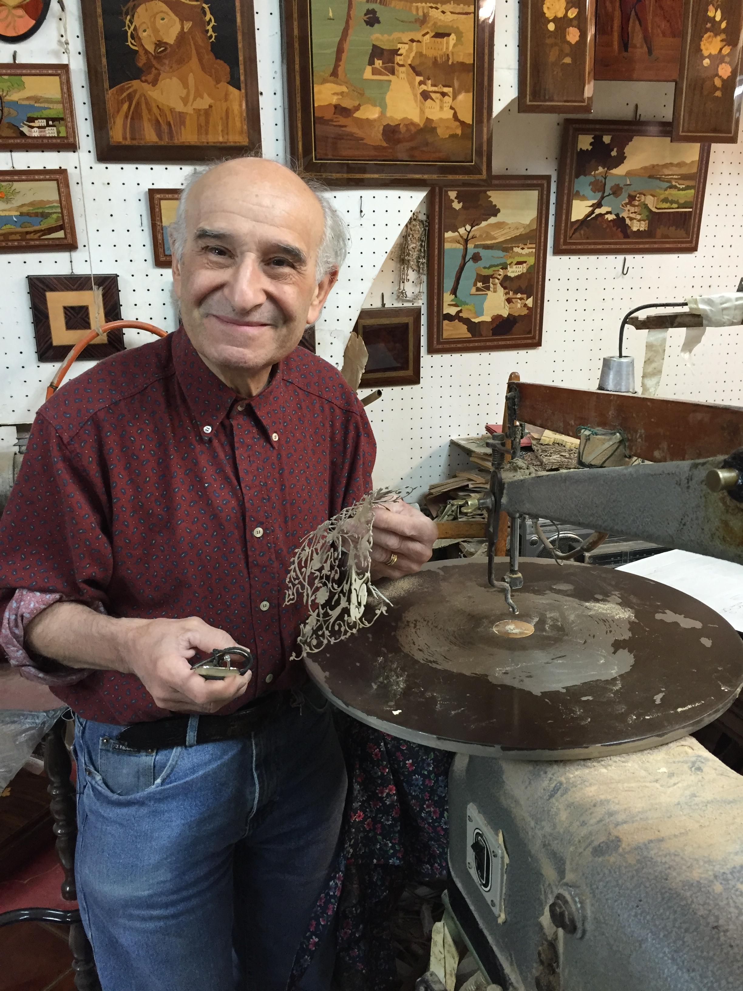 Gaetano D'Esposito in Sorrento thesweetwanderlust.com