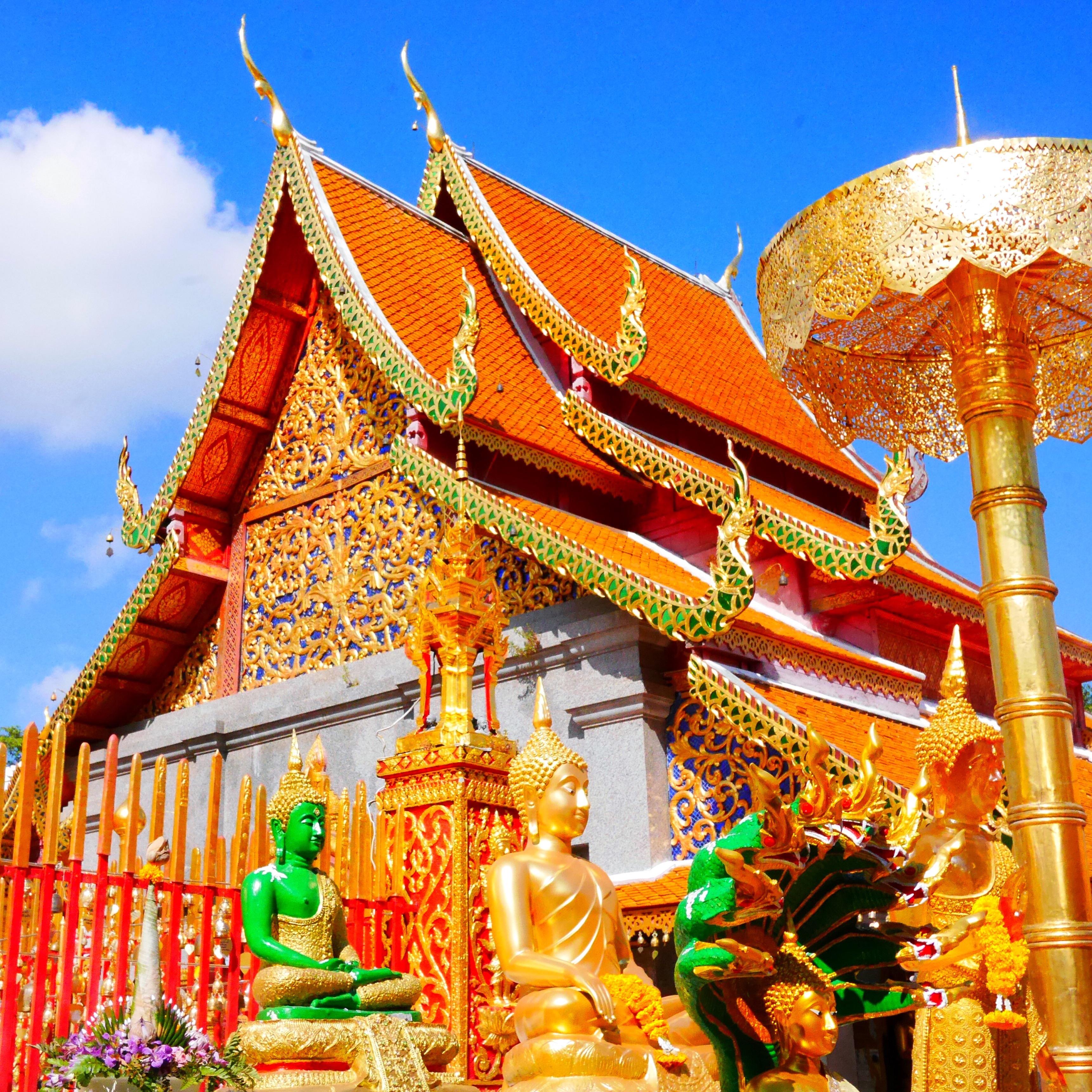 Doi Suthep Buddhist temple Thailand Thesweetwanderlust.com