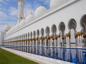 Grand Mosque Abu Dhabi thesweetwanderlust.com