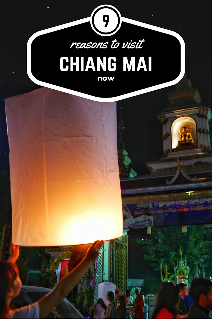 9 reasons to visit Chiang Mai thesweetwanderlust.com