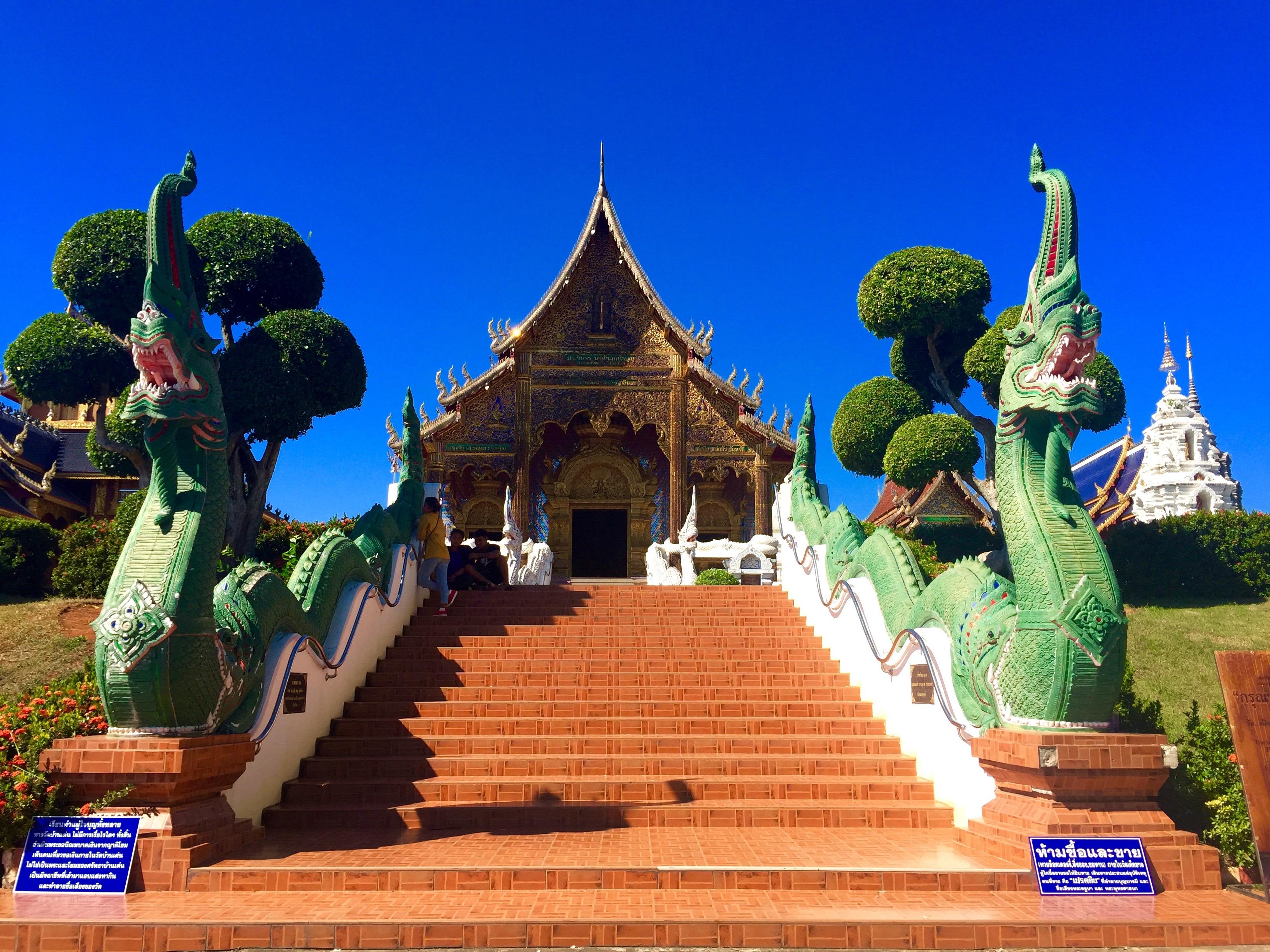 Wat Ban Den Chiang Mai Thailand thesweetwanderlust.com