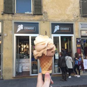 Edoardo's gelato Florence thesweetwanderlust.com