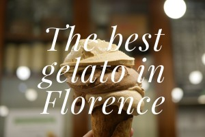 The best gelato in Florence