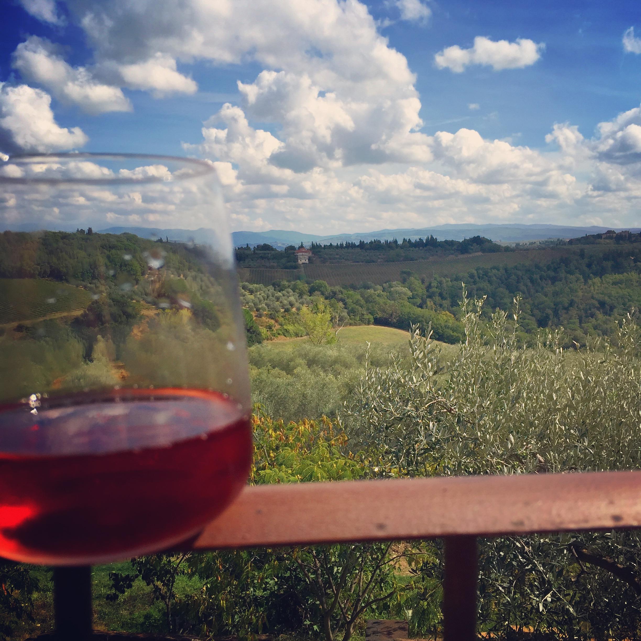 Podere Gualandi rosé - Rosato thesweetwanderlust.com