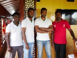 Rainbow Cruises crew Kerala backwaters thesweetwanderlust.com
