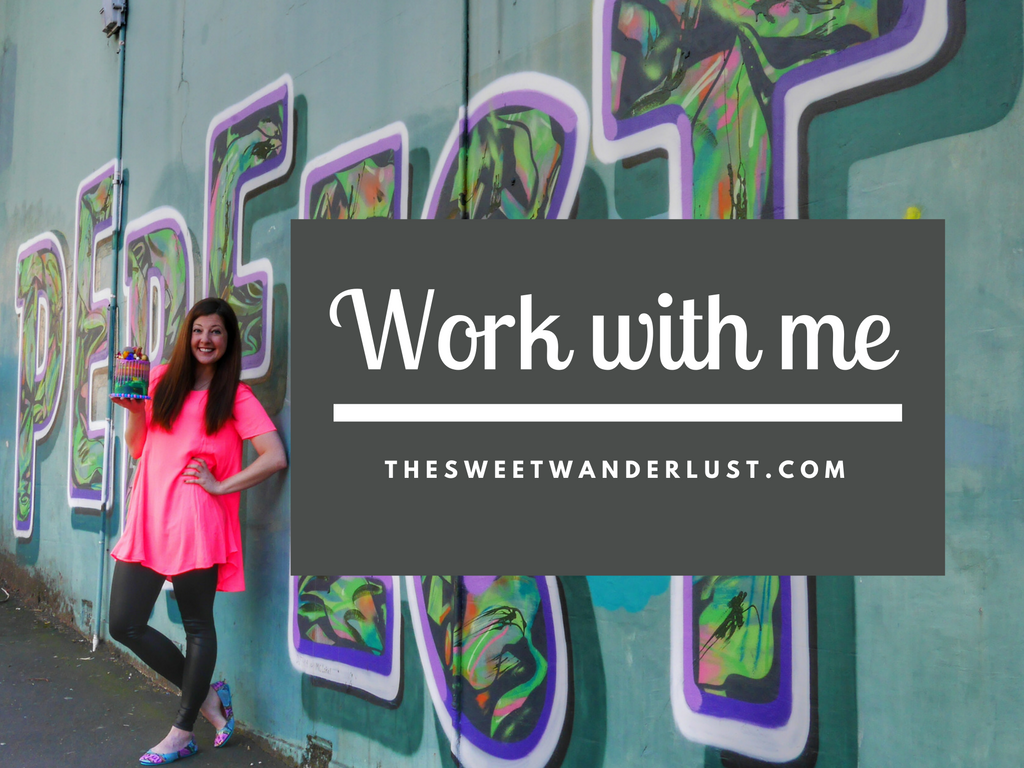 Work with The Sweet Wanderlust