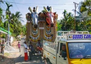 Festival parade Kerala thesweetwanderlust.com