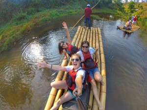 Bamboo rafting with Muddy Boots in Wayanad, Kerala thesweetwanderlust.com