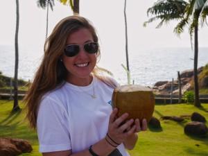 Kerala coconut thesweetwanderlust.com