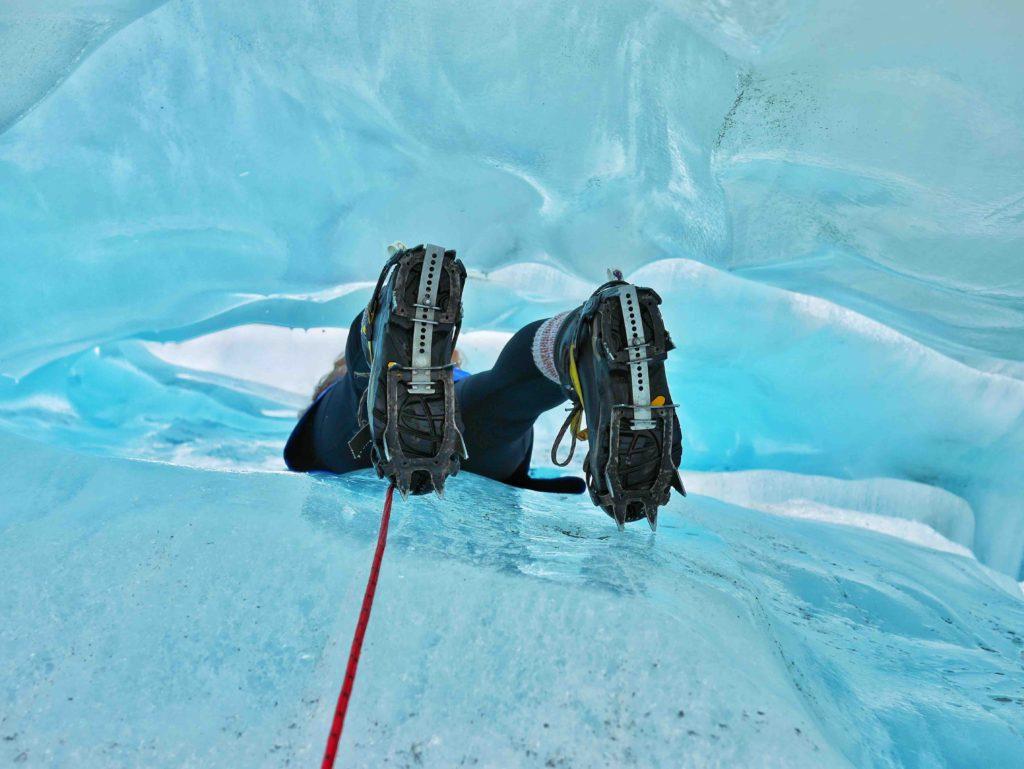 Fox Glacier caves thesweetwanderlust.com