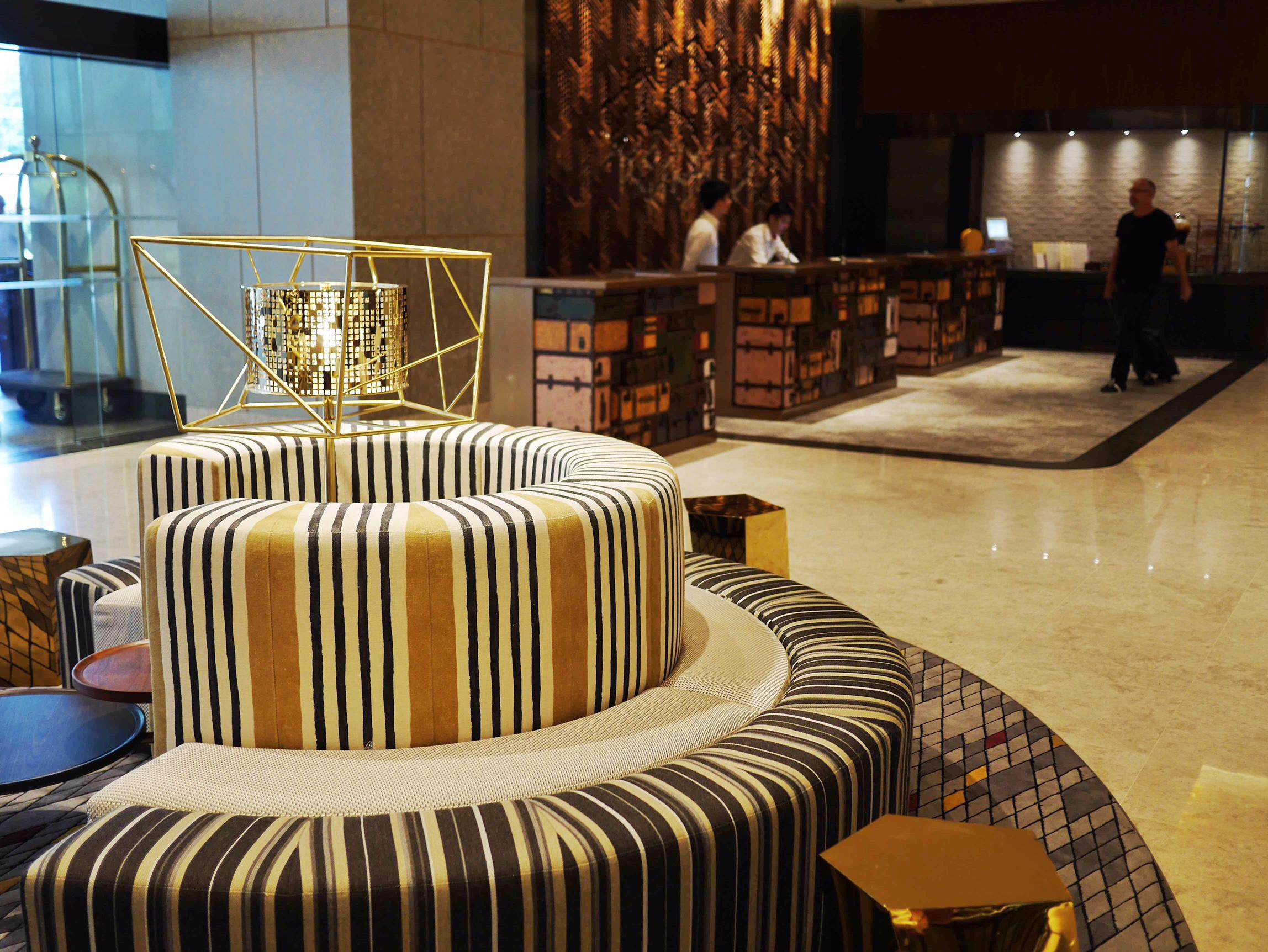 Hotel Jen Tanglin lobby thesweetwanderlust.com