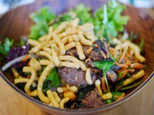 WildThyme beef thai salad thesweetwanderlust.com