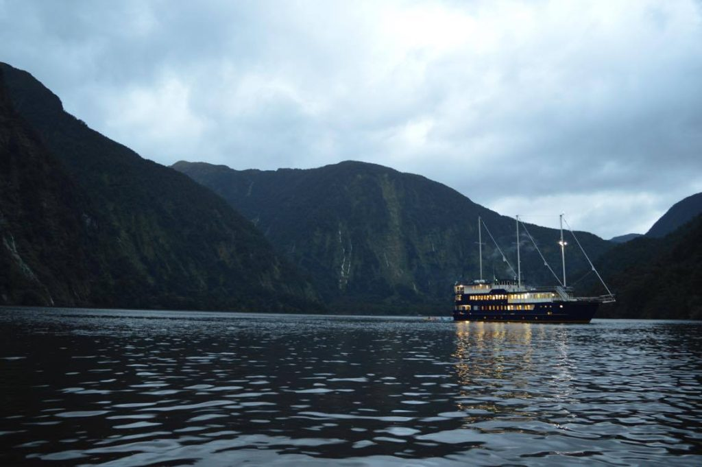Real Journeys The Fiordland Navigator Doubtful Sound