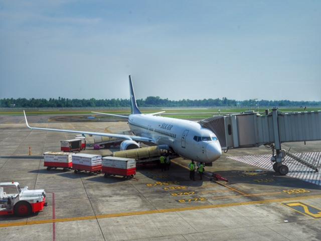SilkAir business class AirbusA320 Kochi to Singapore thesweetwanderlust.com