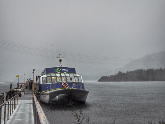 Lake Manapouri ferry Doubtful Sound Fiordlands with Real Journeys