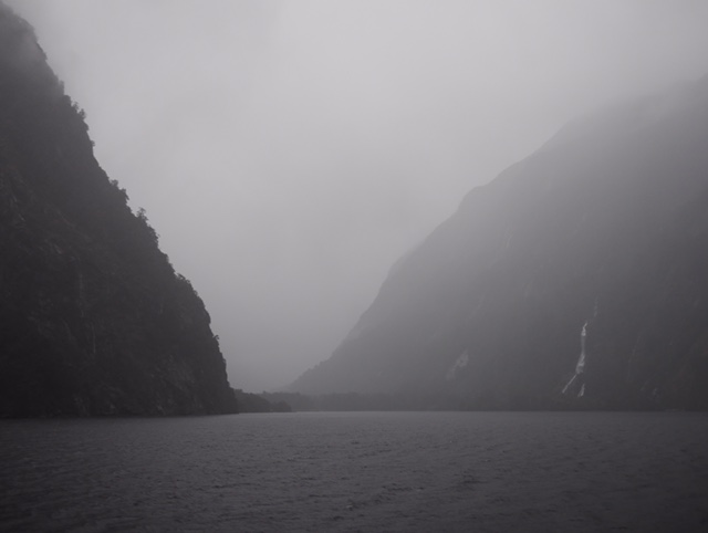 Doubtful Sound fiordlands New Zealand with Real Journeys