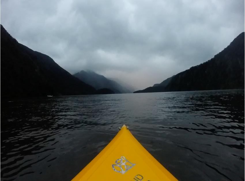 Kayak Doubtful Sound thesweetwanderlust.com