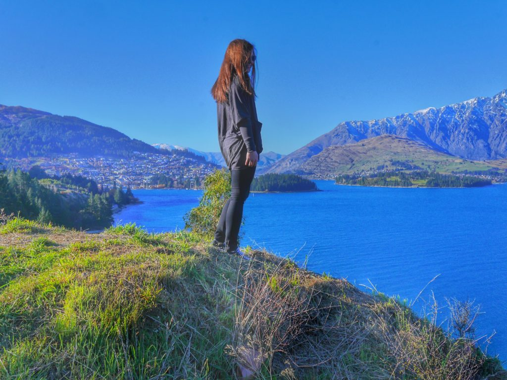 Queenstown and the Remarkables with Lake Wakatipu