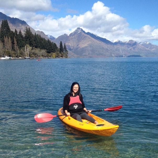 kayak Lake Wakatipu with WaterSports Queenstown