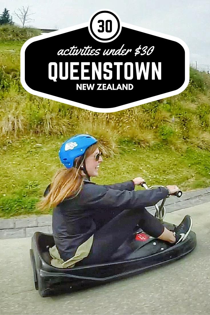 30 activities in Queenstown under $30