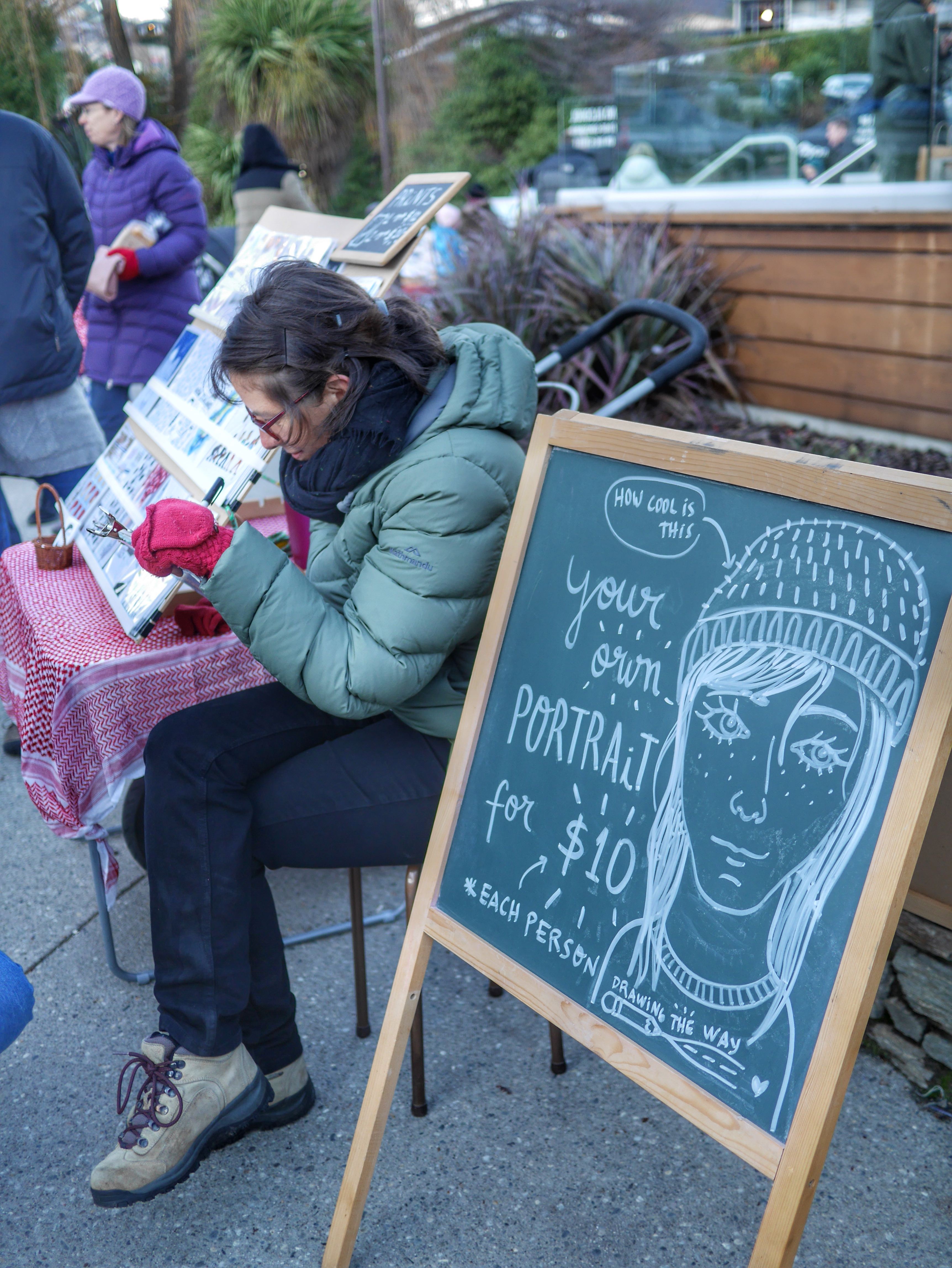 Marcella Pilla portraits Wanaka Farmer's Market thesweetwanderlust.com