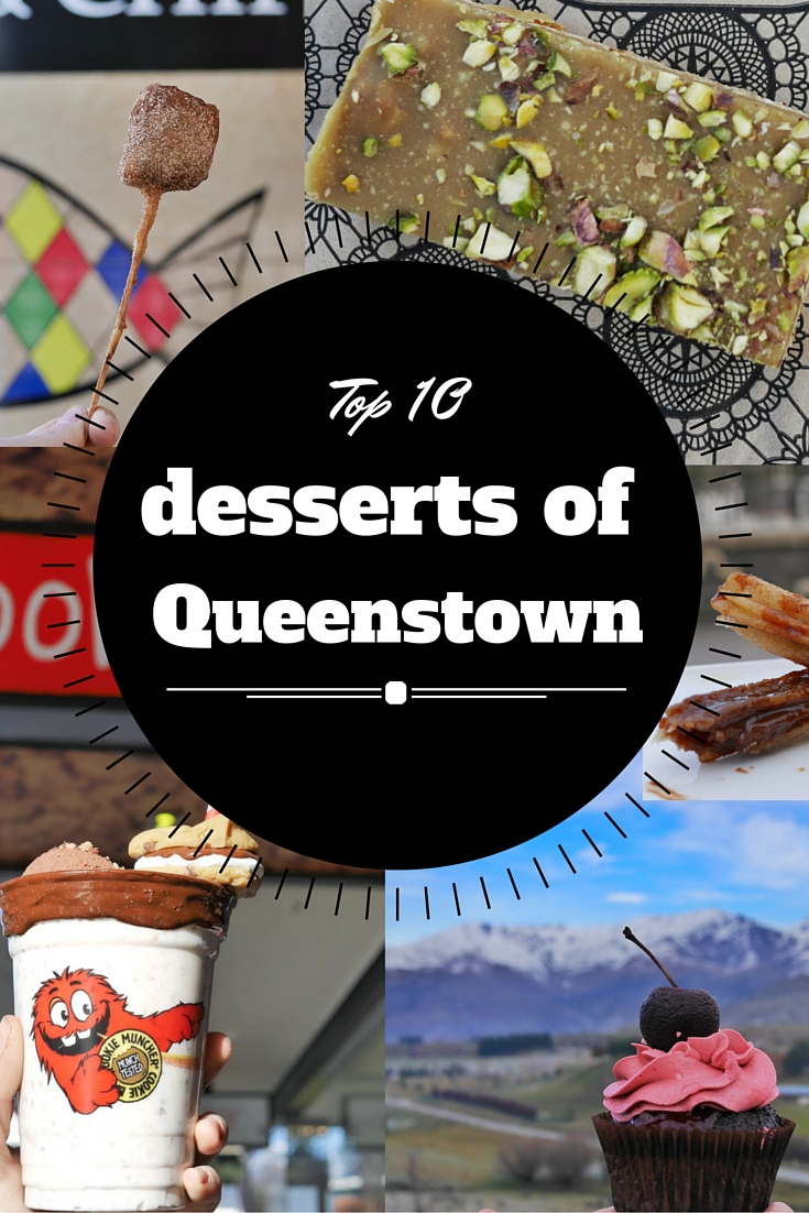 Top 10 desserts of Queenstown New Zealand thesweetwandelrust.com