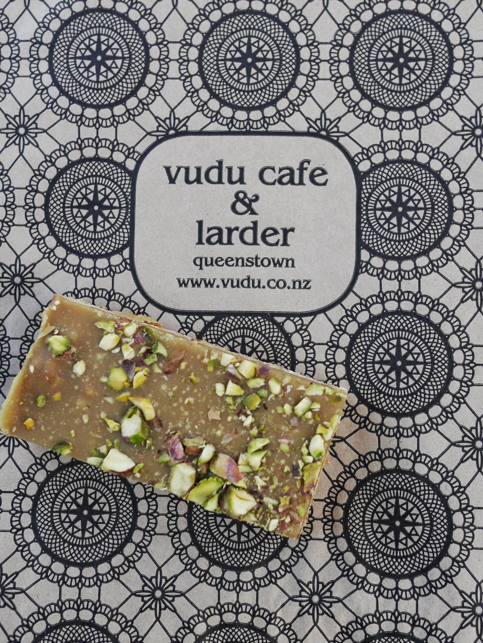 Vudu Cafe & Larder Queenstown Ginger Slice thesweetwanderlust.com