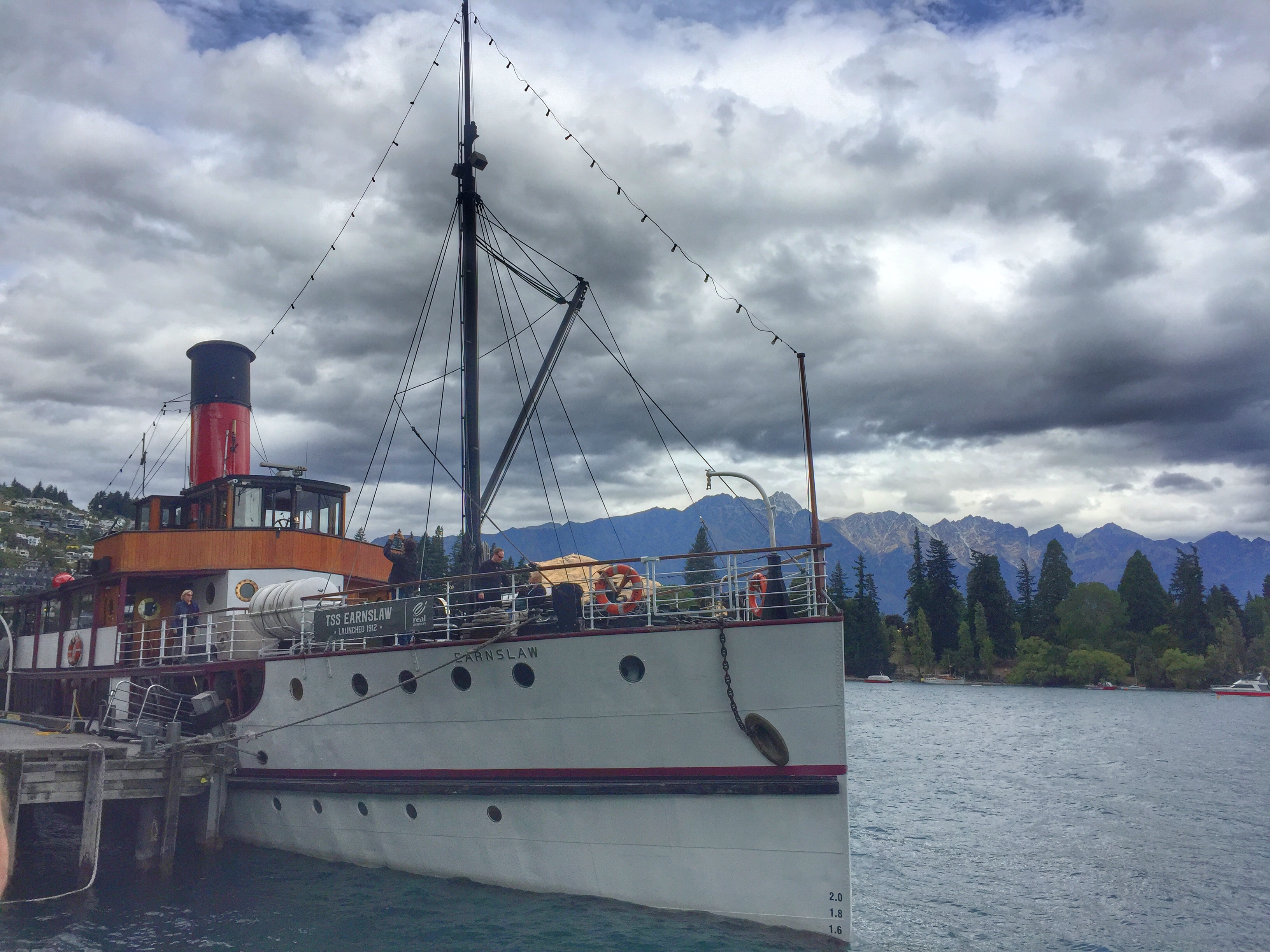 TSS Earnslaw on Lake Wakatipu thesweetwanderlust.com