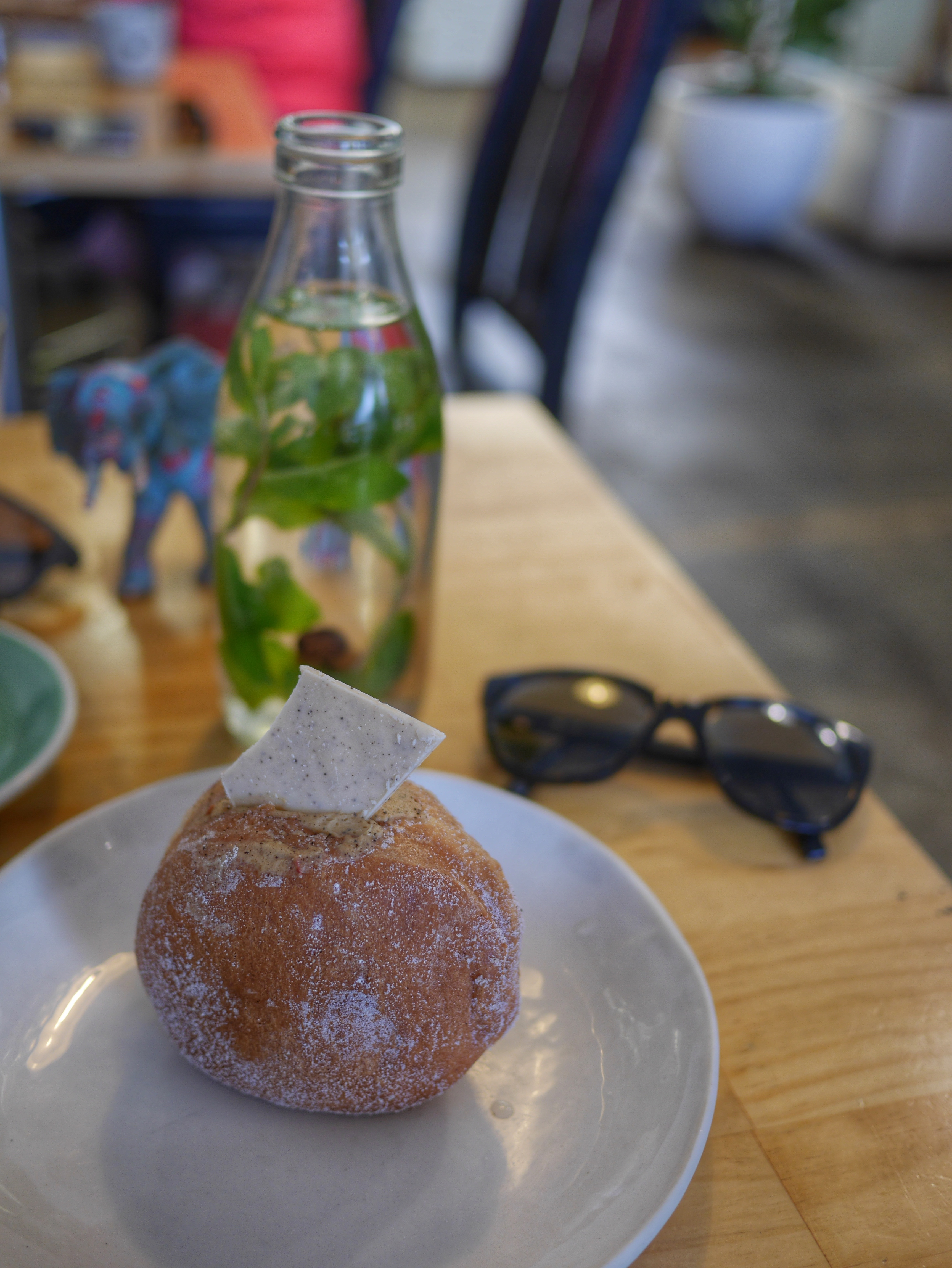 Coffee amaretto donut at Little & Friday in Auckland New Zealand thesweetwanderlust.com