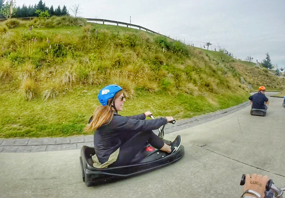 Traveling on a budget in Queenstown? Here's how you can still ride the Luge