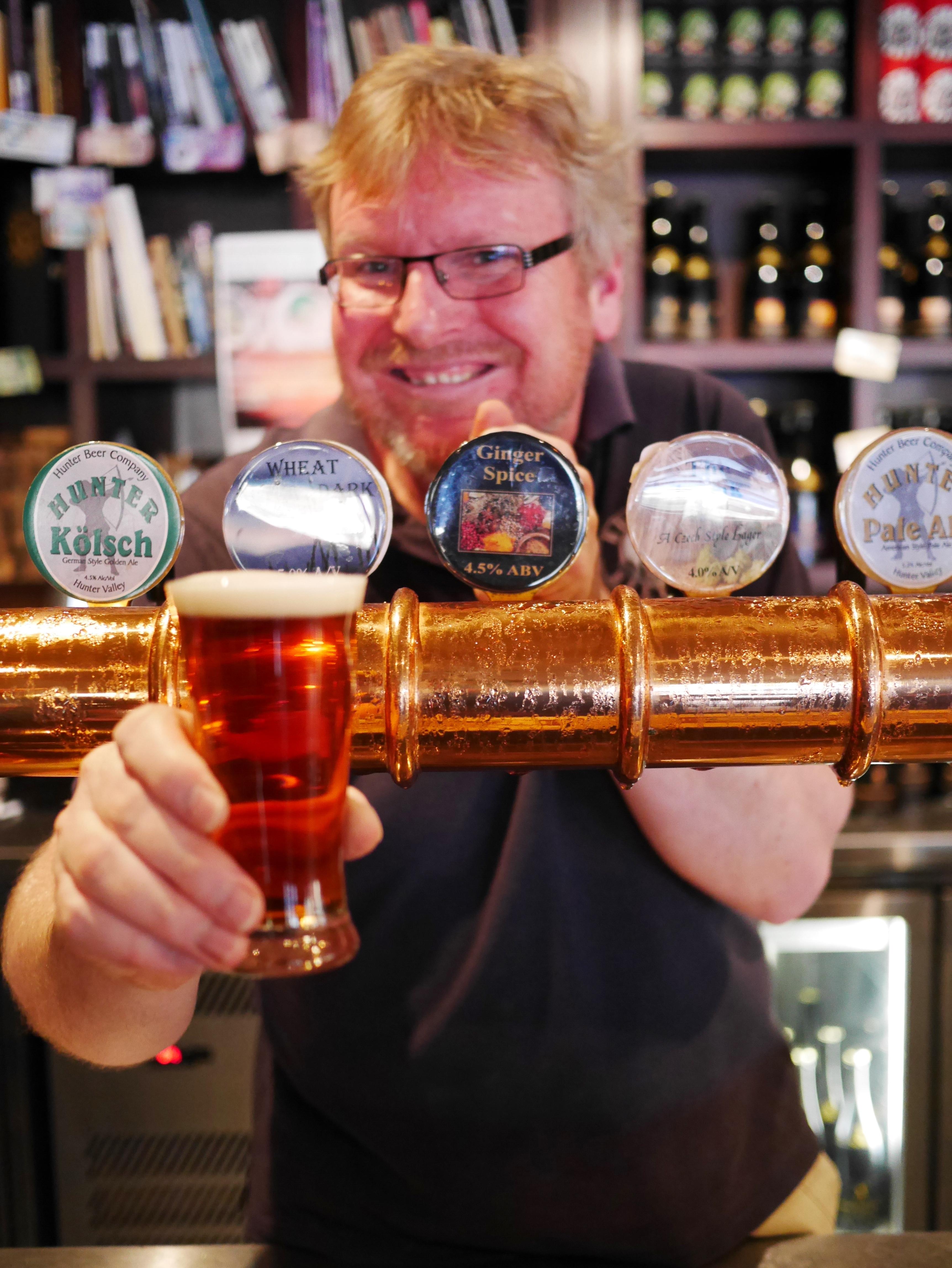 Hunter Beer Co thesweetwanderlust.com