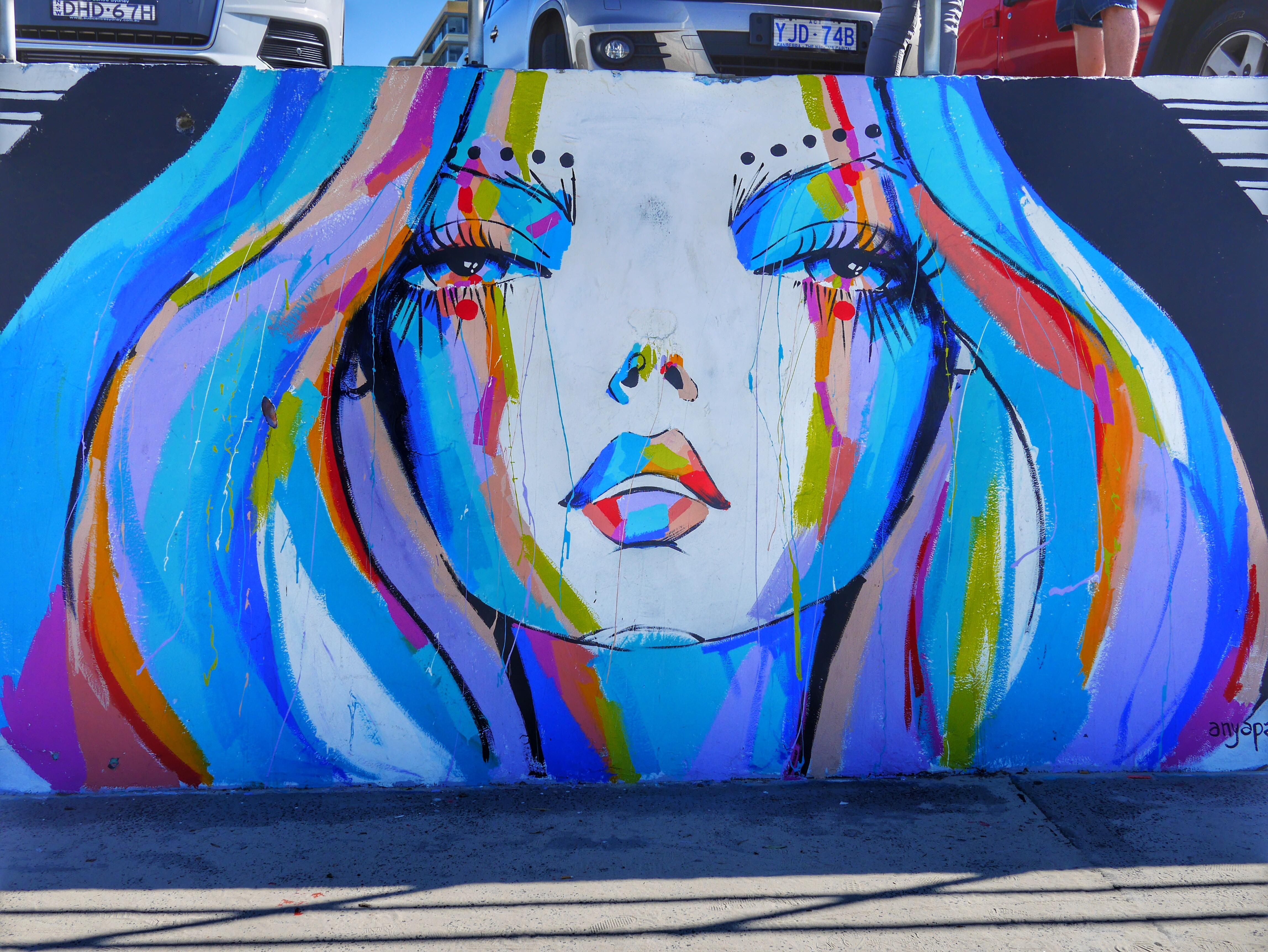 Bondi Beach street art thesweetwanderlust.com